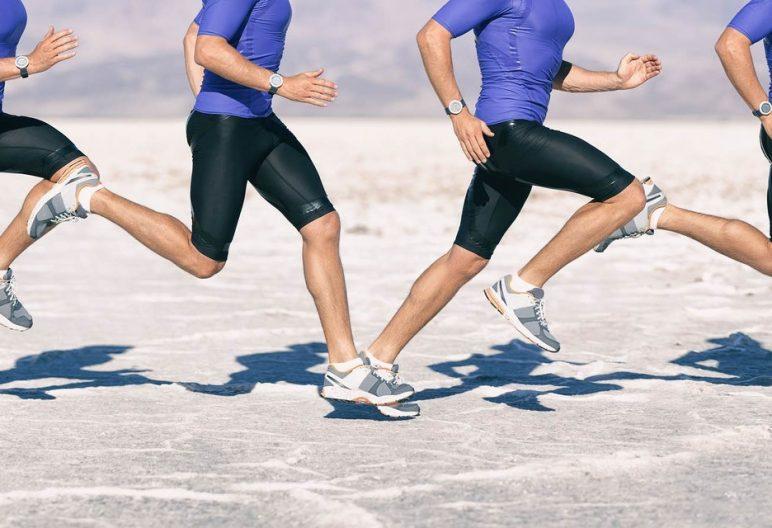 appoggio del piede corsa